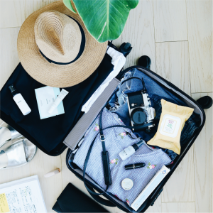 Miscellaneous Items - Chargers, sunglasses, cameras, pens etc are travel essentials