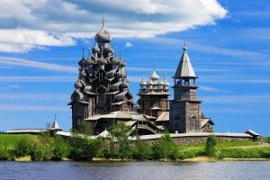 A view of the Kizhi Island, Russia